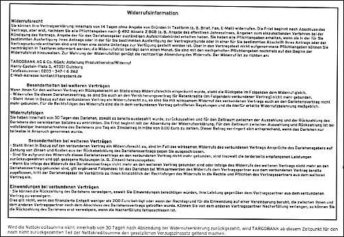 Klicken Sie auf die Grafik für eine größere Ansicht Name:Widerrufsinformation 05.07.2010 Darlehen.JPG Hits:3 Größe:257,0 KB ID:2870