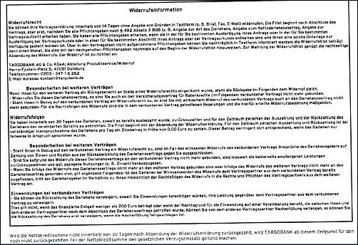 Klicken Sie auf die Grafik für eine größere Ansicht Name:Widerrufsinformation Darlehen 06.01.2011.JPG Hits:2 Größe:256,4 KB ID:2872